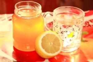 Мёд, лимон и вода