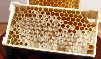 мини рамка с сотовым мёдом